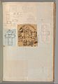 Page from a Scrapbook containing Drawings and Several Prints of Architecture, Interiors, Furniture and Other Objects MET DP372120.jpg