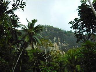 Fa Hien Cave - remote view