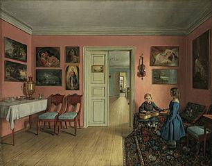 The Rooms of Ivan Khrutsky's Estate
