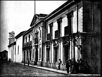 History of the Costa Rican legislature - The Costa Rican National Palace, the see of most of its legislatures.