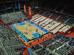 Anexo pabellones del real madrid de baloncesto wikipedia la enciclopedia libre - Pabellon de deportes madrid ...