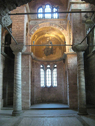 Count Robert of Paris - Interior of Pammakaristos Church, Constantinople, built shortly before the First Crusade