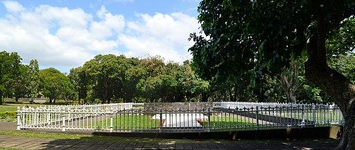 Pamplemousses, Sir Seewoosagur Ramgoolam Botanical Garden, Samadhi Seewoosagur Ramgoolam
