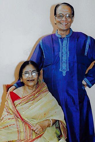 Ramkanai Das - Das and his wife Subarna Das in New York (2008)