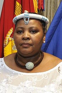 Nosiviwe Mapisa-Nqakula South African politician