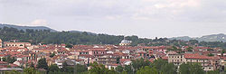 Panoramic view of Lioni