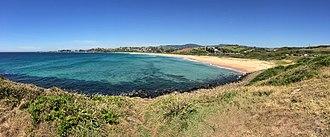 Bombo, New South Wales - Panorama of Bombo, on the shorefront of Bombo Beach