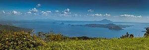 Taal Lake - Panoramic shot of Taal Lake and Volcano taken from Tagaytay