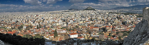 Panoramic view of Athen - By Andreas Trepte (Own work) [CC-BY-SA-2.5 (http://creativecommons.org/licenses/by-sa/2.5)], via Wikimedia Commons [Olympic]