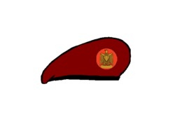 Paratroops brigadier Beret - Egyptian Army.png
