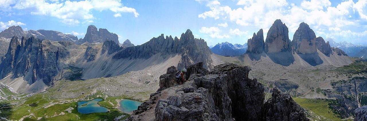 Taman Alam Tre Cime di Dolomites, Situs Warisan Dunia UNESCO