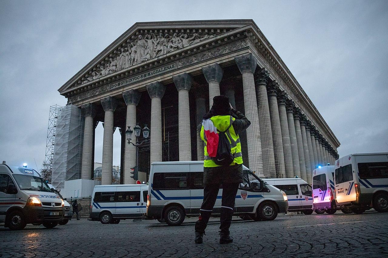 Paris, 081218 - Gilets jaunes acte 4.jpg