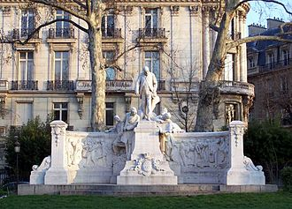 Adolphe Alphand - A monument to Alphand, avenue Foch Paris,