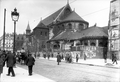 Paris (75), prieuré Saint-Martin-des-Champs, chevet de l'église en 1913.png