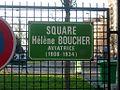 Paris 13e - Square Hélène-Boucher - plaque 3.JPG