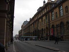 Paris Rue de Rivoli Aile de Rohan du Louvre 20070219.jpg