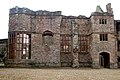Partly-restored windows facing the Pitched Stone Court, Raglan Castle - geograph.org.uk - 1531734.jpg