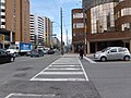 Parts of panoramas of intersections where there will be Eglinton Crosstown LRT stations, GPS embedded, taken 2013 04 25 (3) (8681148979).jpg
