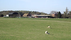 Pasture and farm buildings at Burcote, Shropshire (geograph 2881718).jpg
