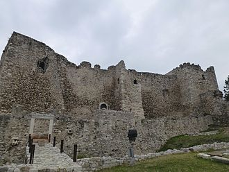 Patras Castle - The castle from up close.