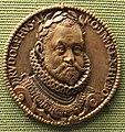 Paul van vianen, re rodolfo II, arg dorato, 1576.JPG