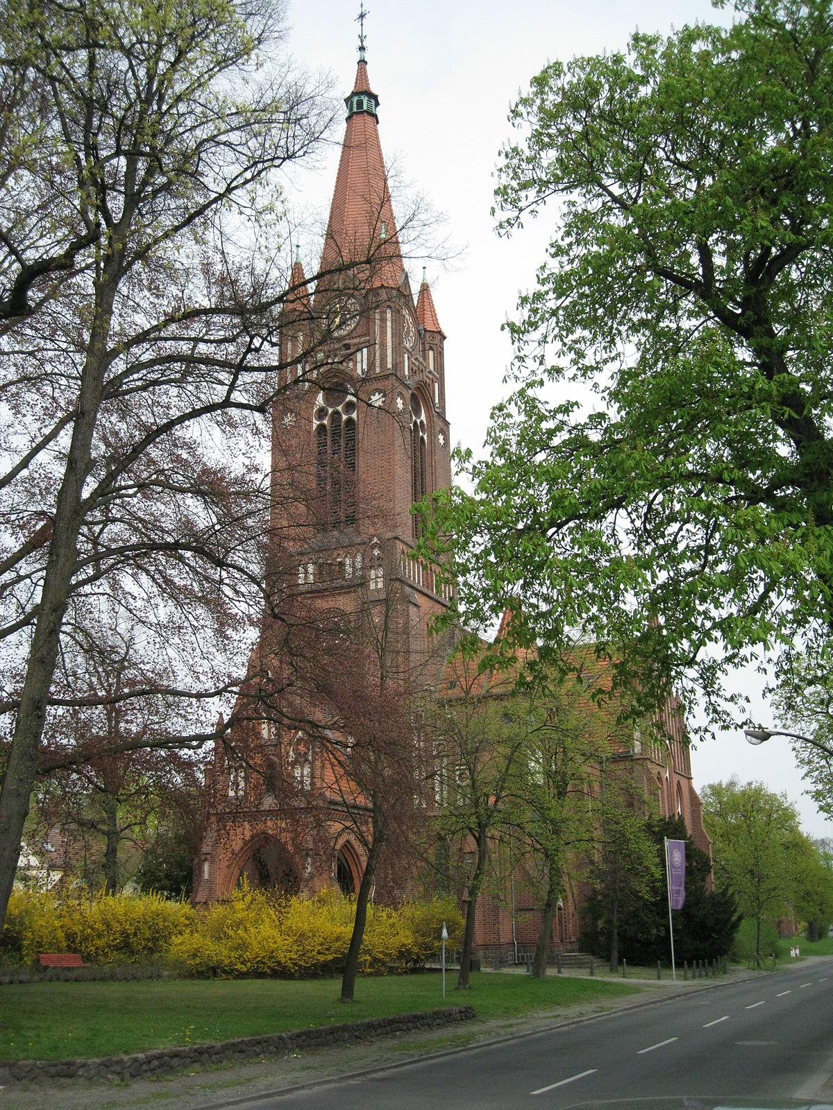 Pauluskirche Berlin Lichterfelde Wikipedia