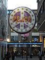 Peace decoration, Carnaby Street W1 - geograph.org.uk - 1600056.jpg