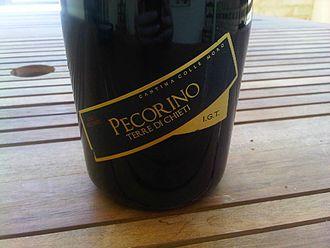 Abruzzo (wine) - A semi-sparkling frizzante Pecorino from the Terre di Chieti IGT in Abruzzo