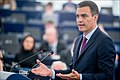 Pedro Sánchez We must protect Europe, so Europe can protect its citizens (46710934572).jpg