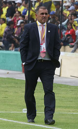 Pedro Sarabia - Sarabia as a coach of Paraguay U20 in 2017