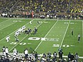 Penn State vs. Michigan football 2014 18 (Michigan punting).jpg