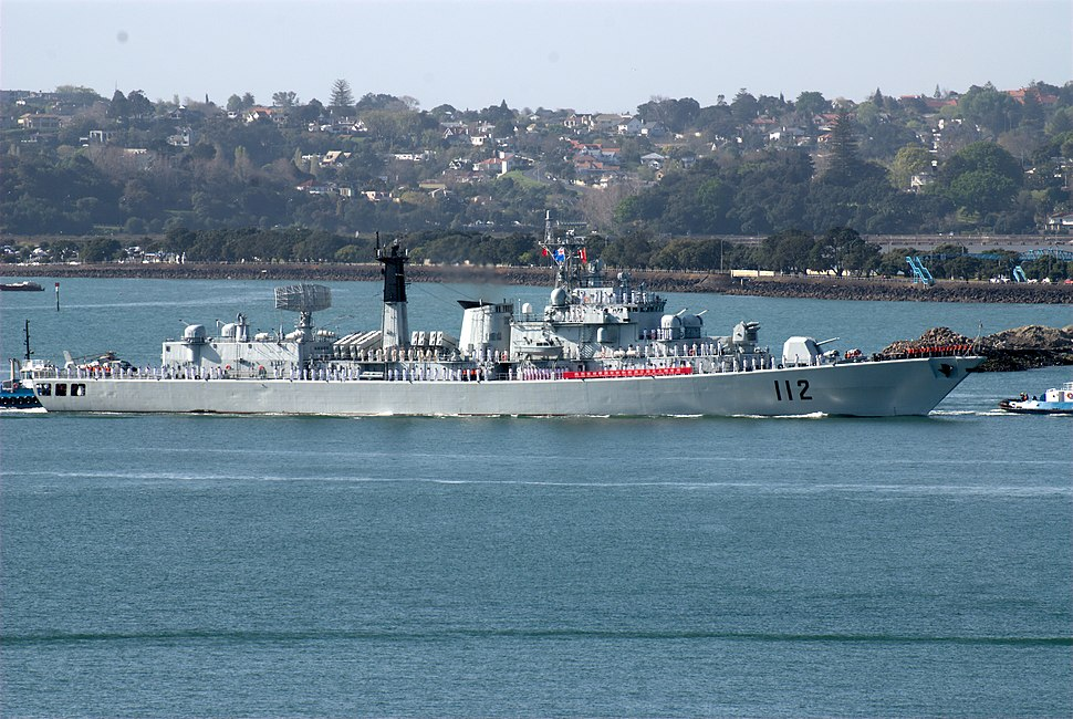 People's Liberation Army Navy LUHU Destroyer, Harbin (DDG112)