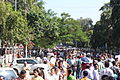 People come to see Bhupen Hazarika after his death.JPG