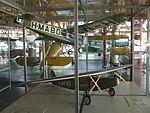 Petőfi Csarnok, Repüléstörténeti kiállítás, Fokker F.III és Fokker F.VIII modellek.JPG