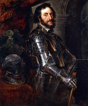 Thomas Howard, 21st Earl of Arundel - Armoured portrait by Rubens.