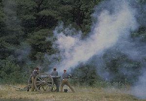 Petersburg National Battlefield - Reenactors at Petersburg National Battlefield.