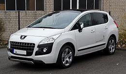 Ford Hybrid Suv >> Peugeot 3008 - Wikipedia