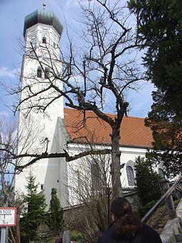 Die Pfarrkirche von Königsdorf