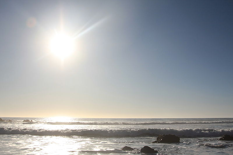 File:Pfeiffer State Beach Sunset.JPG