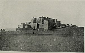 Pagri - Phari Dzong in 1903 during British Younghusband invasion of Tibet