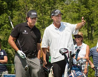 KPMG - Phil Mickelson wearing KPMG hat
