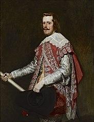 Portrait of Philip IV in Fraga