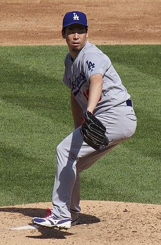 Kenta Maeda - Maeda with the Dodgers in 2017