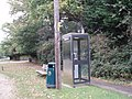 Phone box by main road - geograph.org.uk - 583611.jpg