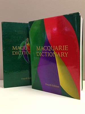 Macquarie Dictionary - The Macquarie Dictionary Fourth Edition.