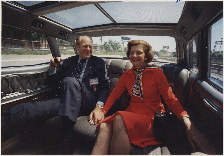 Gerald Ford Fashion Model Photos