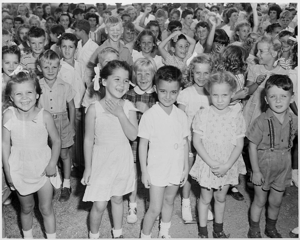 File Photograph Of School Children At The U S Naval Base