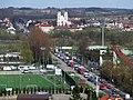 Piątnica, Łomża - widok z hotelu Gromada.JPG