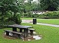 Picnic spot in Newent Lake Park - geograph.org.uk - 526730.jpg