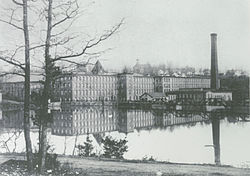 Piedmont Manufacturing Company in the 1890s.